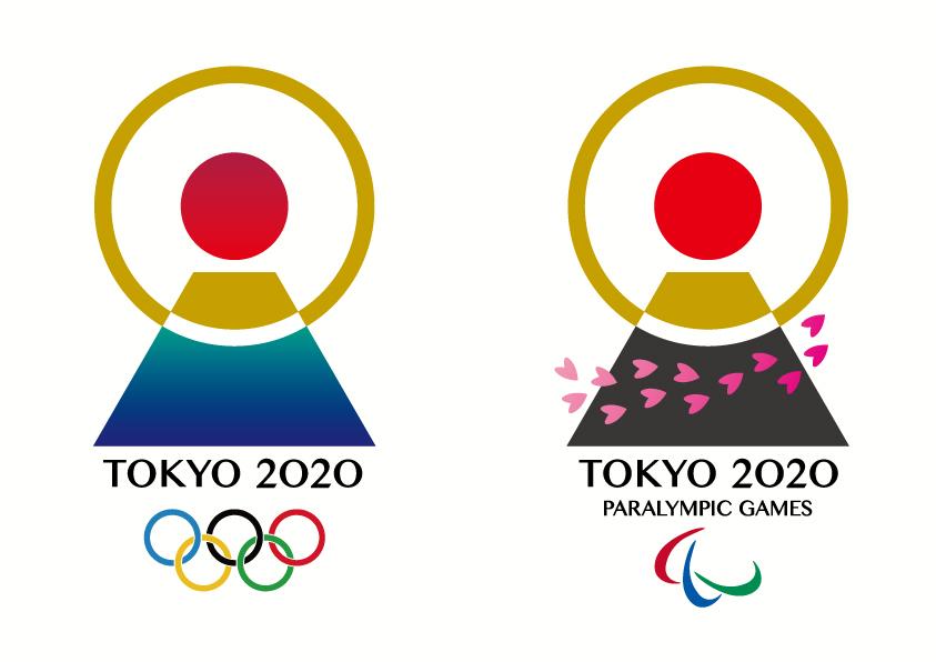 東京オリンピックエンブレムダブル